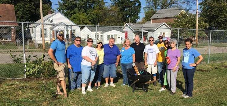 Kentucky Colonels - Day of Service Landscaping