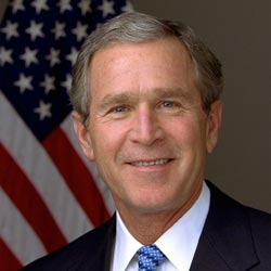 Ky Colonels - Famous Colonels - George W Bush - Former President